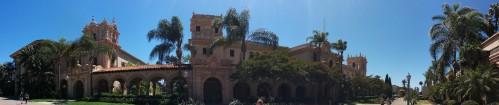 Main Street in Balboa Park...